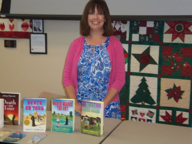 Janice Hamrick and her books
