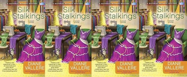 Diane Vallere's new book Silk Stalkings